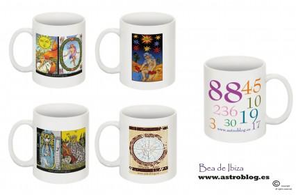 Tu oraculo personal. Coleccion de tazas www.astroblog.es